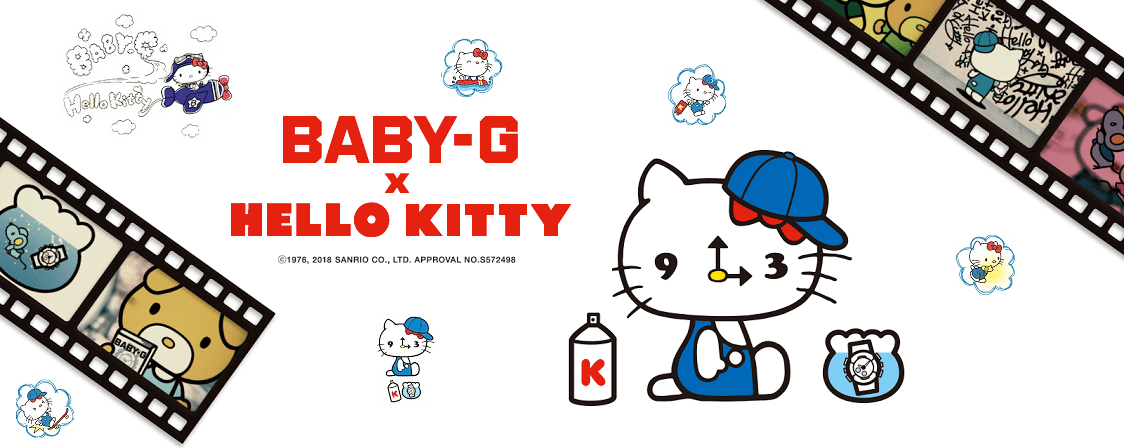 Baby-G hello Kitty